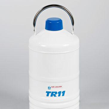 Air Liquide ТR/TP – дюарови съдове за съхранение и транспорт на течен азот