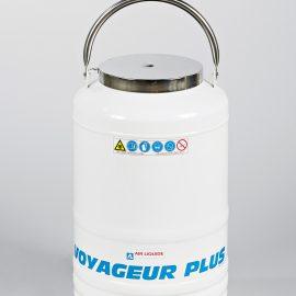 Air Liquide VOYAGEUR – портативни криоконтейнери за ръчно пренасяне на биологични продукти в течен азот
