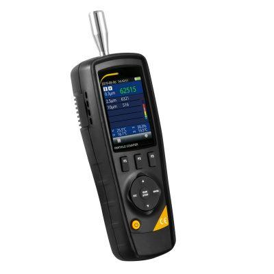 Професионален уред за измерване на замърсяването на въздуха